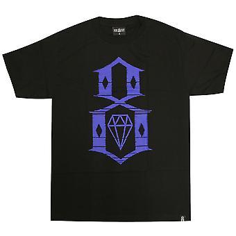 Rebel8 Static 8 Men's T-shirt Black
