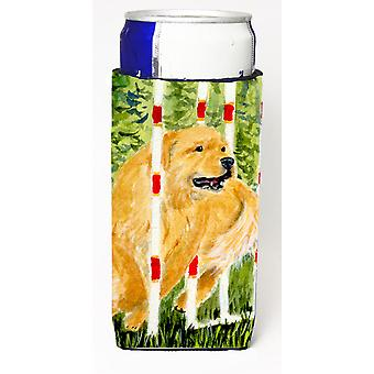 Golden Retriever Ultra Beverage Insulators for slim cans SS8906MUK