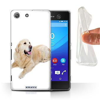 STUFF4 Gel/TPU Case/Cover for Sony Xperia M5/Labrador/Dog Breeds