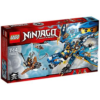 Lego 70602 Jay'S Elemental Dragon (Toys , Constructions , Characters And Animals)