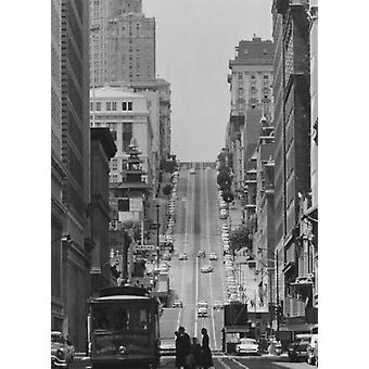 Knob Hill San Francisco California USA Poster Print