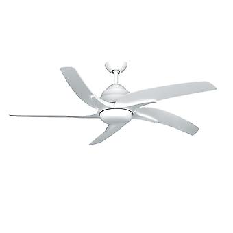 Ceiling fan Viper Plus White with LED lighting 137 cm / 54