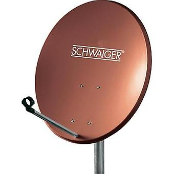 Schwaiger SPI550.2 Satellite Dish, , Brick red