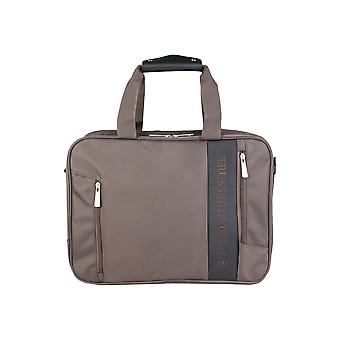 Trussardi Herren Aktentaschen Brown