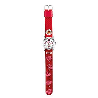 Scout child watch learning sweeties girls watch red flowers 280301028