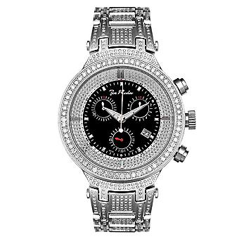 Joe Rodeo diamond men's watch - MASTER Silver 5.2 ctw
