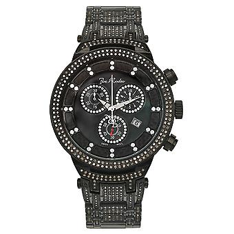 Joe Rodeo diamant mænds watch - MASTER Black 4,75 ctw