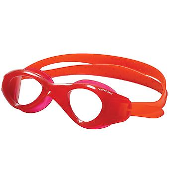 FINIS Nitro nuotata occhiali - Red/Clear