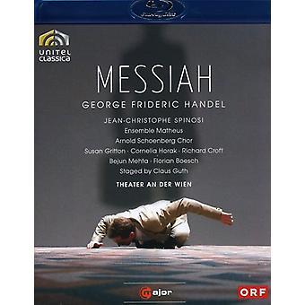 G.F. Handel - Messiah [BLU-RAY] USA import