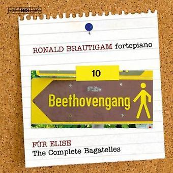 L.V. Beethoven - Beethoven: Kompletta verk för Solo Piano, Vol. 10 - den kompletta bagateller [SACD] USA import