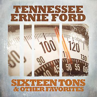 Tennessee Ernie Ford - Sixteen Tons & Other Favorites [CD] USA import