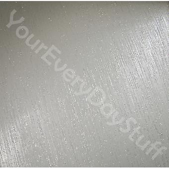 Glitter Wallpaper Glitter Effect Sparkle Embossed Textured Silver Grey