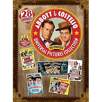 Abbott & Costello: Complete Universal Pictures [DVD] USA import