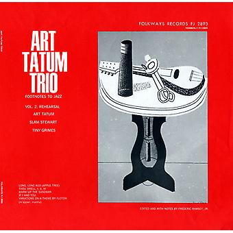 Art Tatum - Art Tatum: Vol. 2-fotnoterna till Jazz: Jazz repetition II [CD] USA import