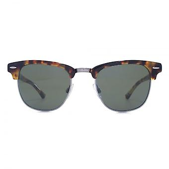 Levis Classic Retro Clubmaster Style Sunglasses In Tokyo Tortoiseshell