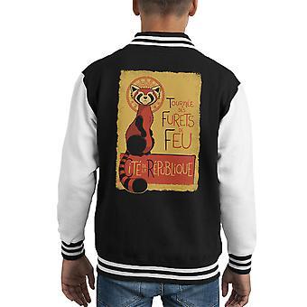 Les Furets de Feu legende af Korra Kid's Varsity jakke