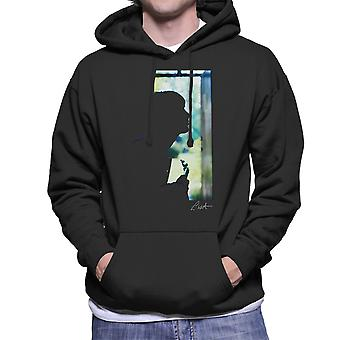Paul Weller Guitar Silhouette Men's Hooded Sweatshirt