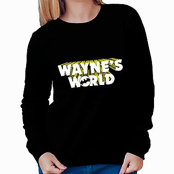Batman Waynes World Women Sweatshirt