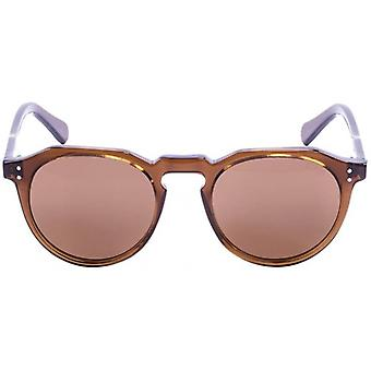 Ocean Cyclops Sunglasses - Dark Brown/Transparent