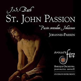 Bach / fuego de Apolo / Sorrell, Jeannette - J.S. Bach: import de USA de la pasión según San Juan [CD]