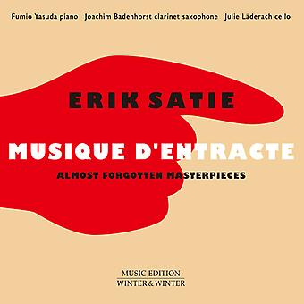 Satie / Yasuda / Laderach / Badenhorst - Erik Satie: Musique D'Entracte [CD] USA import