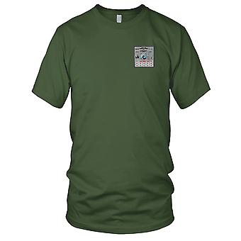 US Navy USS Cabrilla SS-288 bataille drapeau brodé Patch - Mens T Shirt