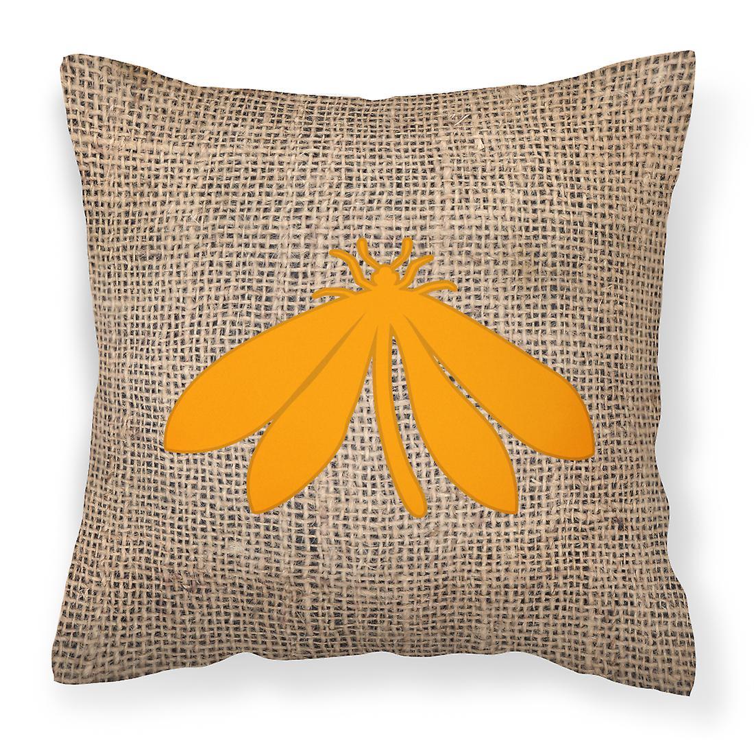 Tissu Bb1060 De Décoratif Papillon Orange Jute Et Oreiller Toile xECBQerdoW