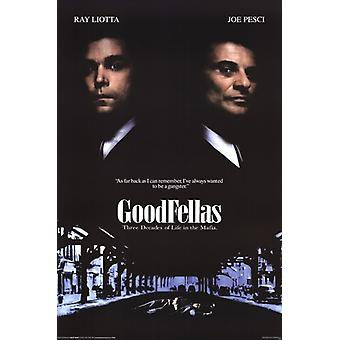 Goodfellas - One Sheet Poster Poster Print