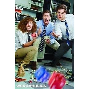 Workaholics - Rolling Dice Poster Poster Print