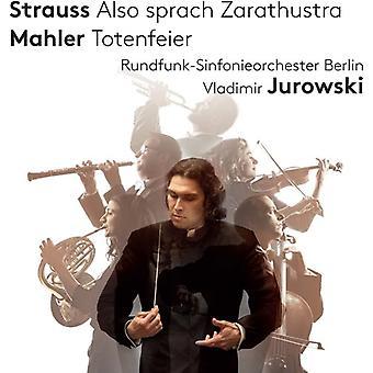 Mahler / Berndt - importación de Estados Unidos también Sprach Zarathustra [SACD]