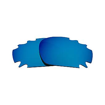 Best SEEK Polarized Replacement Lenses - Oakley VENTED RACING JACKET Red Blue