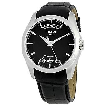 Tissot Couturier Powermatic 80 Leather Mens Watch T0354071605102