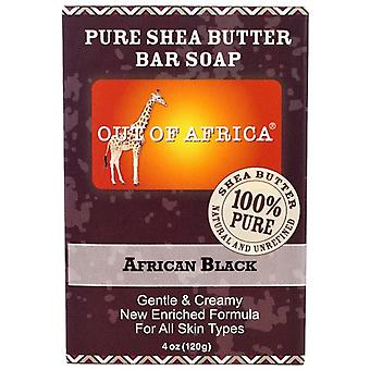 Out of Africa puro Bar di burro di karitè sapone nero africano 2 Bar Pack