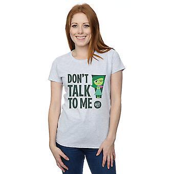 Disney Women's Inside Out Don't Talk to Me T-Shirt