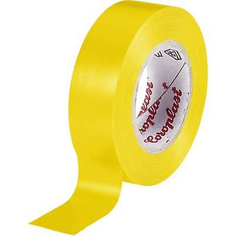Electrical tape Coroplast Yellow (L x W) 10 m x 15 mm