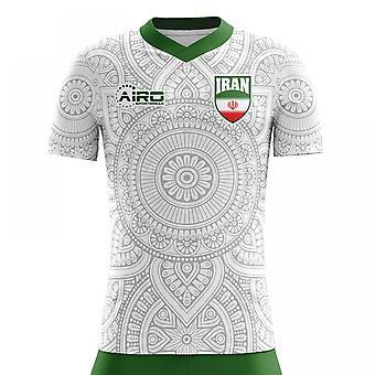 Koszuli piłki nożnej 2018-2019 Iran Home Concept (dla dzieci)