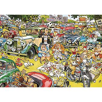 Falcon Deluxe Picnic in the Park Jigsaw Puzzle (1000 Pieces)