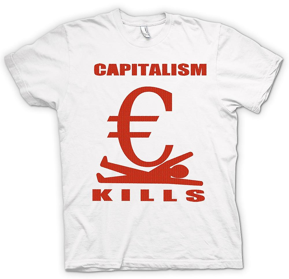 Womens T-shirt - Capitalism Kills - G20