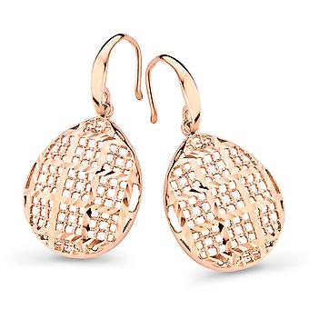 Orphelia Silver 925 Earring Rosegold Drop  ZO-7191/RG