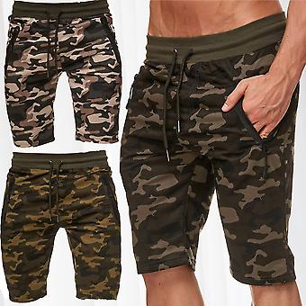 Men's sweat shorts jogging pants camouflage sport fitness Pant stretch waistband shorts