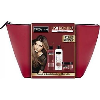 Tresemme Pack Liso Keratina con Neceser 3 Pieces