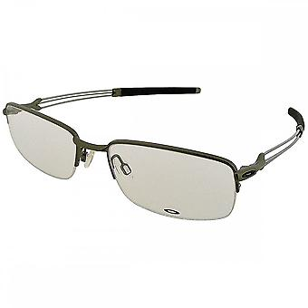 Oakley Oakley Men's Pewter Ballista Rectangular Glasses (55mm)