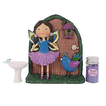 Something Different Phoebe and Teal Fairy Door Gift Set
