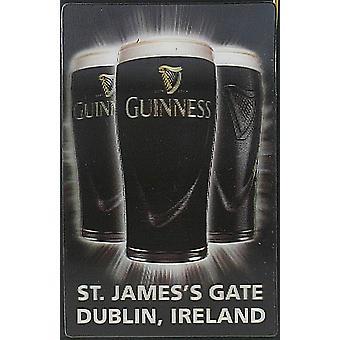 Guinness 3D Køleskabsmagnet - Pint glas