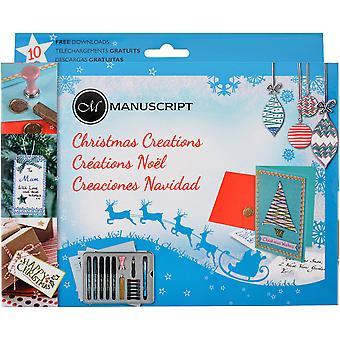 Manuscript Christmas Creations Card Set