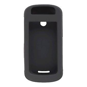 5 Pack -Black Silicone Gel Case for Motorola Crush W835