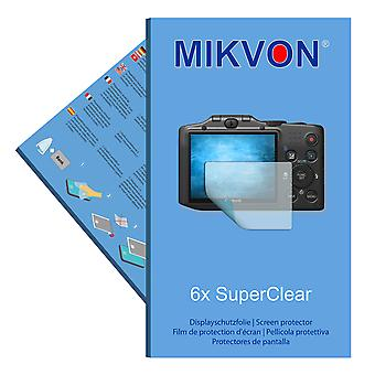 Canon PowerShot SX160 IS screen protector- Mikvon films SuperClear