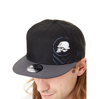 Metal Mulisha New Era Black Descend Snapback Cap