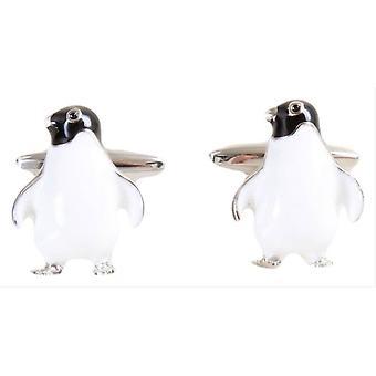David Van Hagen pinguino gemelli - bianco/nero