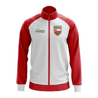 Oman Concept Football Track Jacket (White) - Kids
